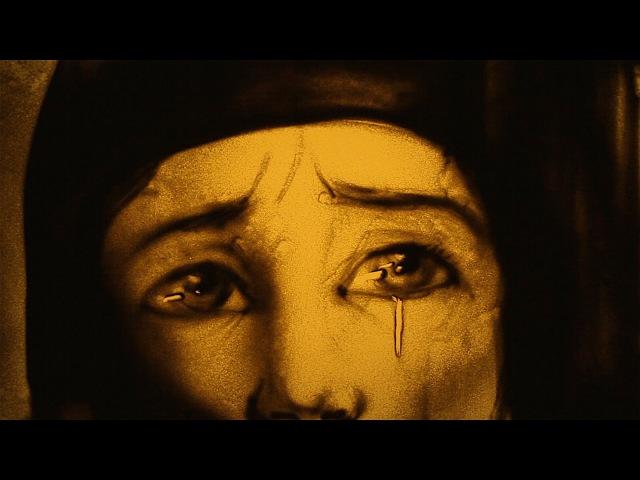 Фильм из песка Преподобная Александра Дивеевская (песочная анимация) - Sand art St.Alexandra
