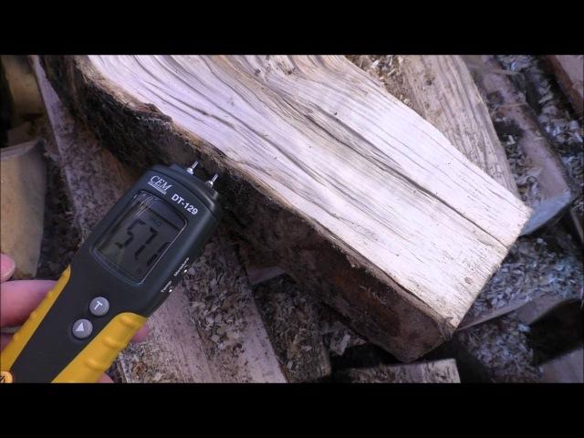 Убиваем печь сырыми дровами.
