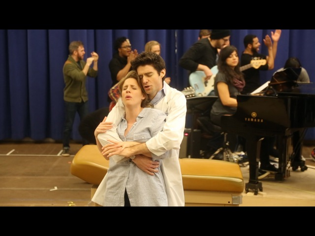 Jessie Mueller and Drew Gehling Sing Bad Idea from Sara Bareilles' WAITRESS