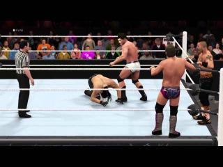 Seth Rollins vs Enzo Amore, Chris Jericho & Cody Rhodes