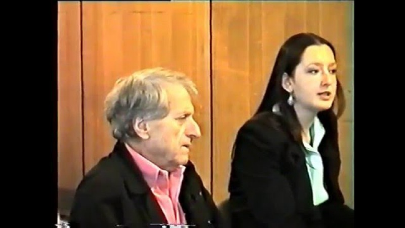 The composer Iannis Xenakis talks with Moscow composers Full version French Russian