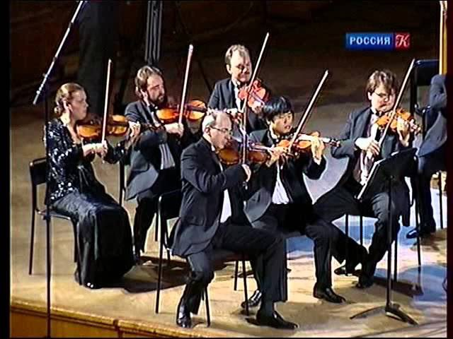 W.A. Mozart. Symphony No.41 Jupiter KV 551 - The Chamber Orchestra Moscow Virtuosi, con. Barshai