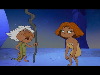 Dawn of the croods / семейка крудс - сезон 1 серия 3 s01e03 wet hot ahhh! valley summer grug vs. the moon