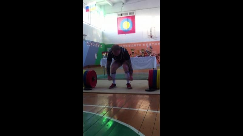Становая тяга (абс.) Филин Антон - 277.5кг