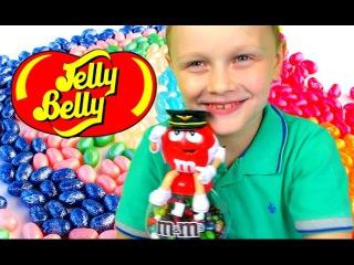 Много Конфет ДЖЕЛЛИ БЕЛЛИ Аппарат с  M&M's A Lot of Candy  JELLY BELLY Челлендж