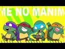 【手描きTMNT】亀のまにまに -KAME NO MANI MANI-