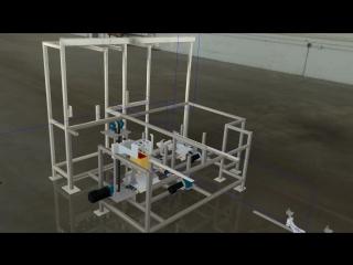 Металлоконструкция в Autodesk Inventor