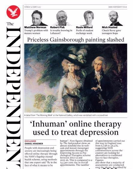 The Independent - 20 March 2017
