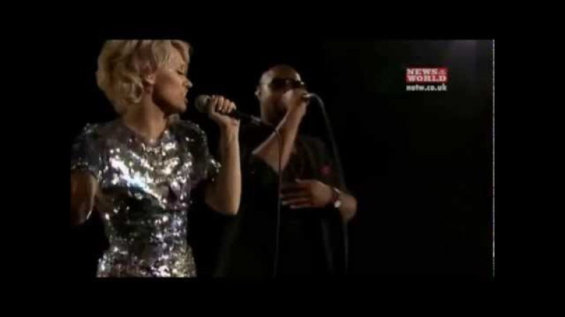 Kimberly Wyatt Star in Your Eyes with Her Majesty The Wolves Live XSessions for NOTW 2011