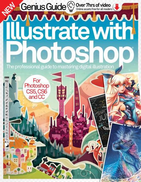 Illustrate With Photoshop Genius Guide Volume 6 Revised Edition