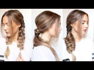 3 Heatless Hairstyles
