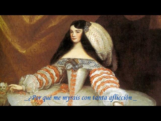 Vuestros ojos tienen d'amor no sé qué, anonymous (S.XVII), Raquel Andueza, soprano.