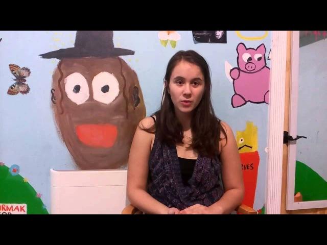 Дети билингвы Интервью с молодыми американцами Анастасия 14 лет