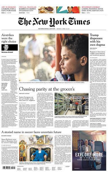 International New York Times 10 April 2017 FreeMags