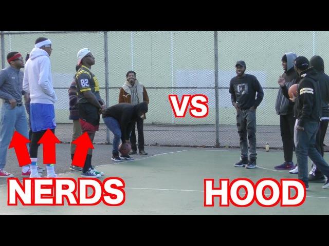 Nerds Play Basketball In The Hood Like A Boss!