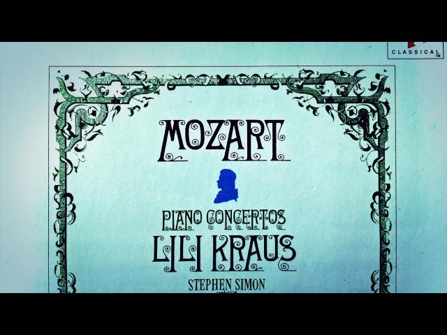 Mozart - Piano Concertos No.20,21,22,23,24,25,26,27 Presentation (Centurys record. Lili Kraus)