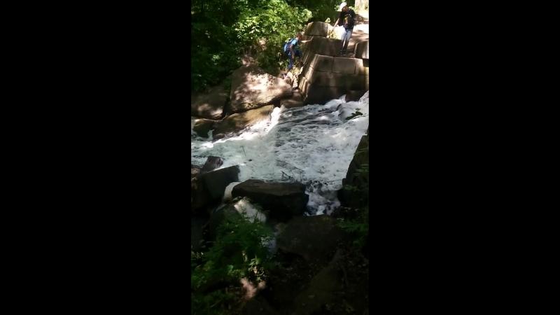 водопад Трикраты