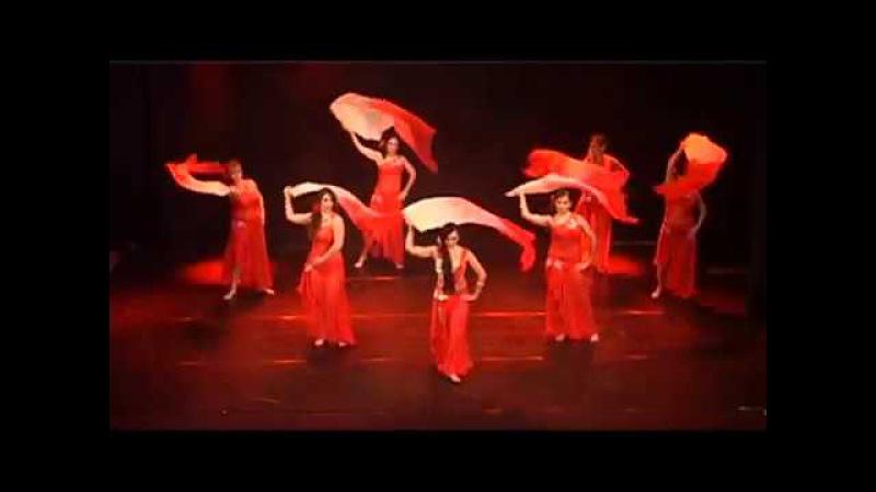 Oriental Tango Caterina Mazzara Kasia e gruppo Aria International Oriental Festival 2016