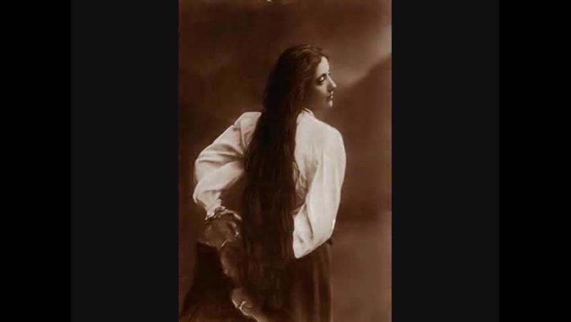 Salomea Krusceniski Solveig's Song Grieg Peer Gynt 1902 1907