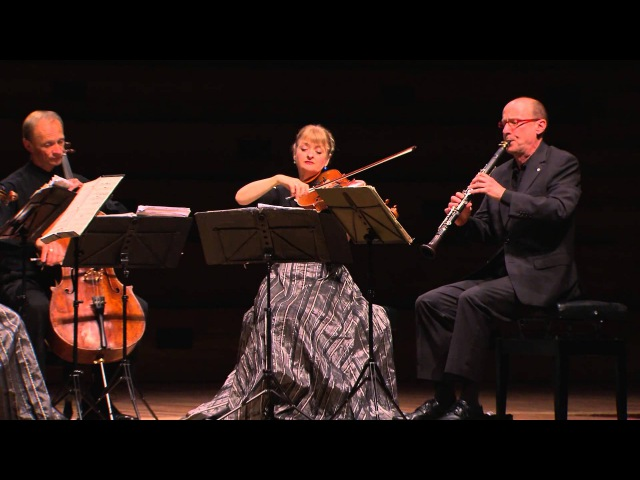 Brahms' Clarinet Quintet in B minor Opus 115 - New Zealand String Quartet with James Campbell