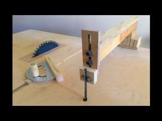 4 in 1 Workshop Accessories (blade guide, miter gauge, crosscut sled) - 4 in 1 .i. Aparatlar