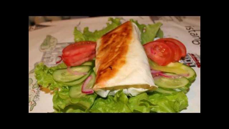 Ленивая ШАВЕРМА или хот дог в лаваше. Самая легкая в приготовление ШАУРМА