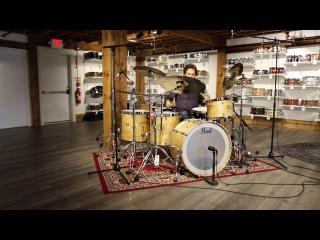 Pearl Masterworks Exotic Drum Set w/ Todd Sucherman!!