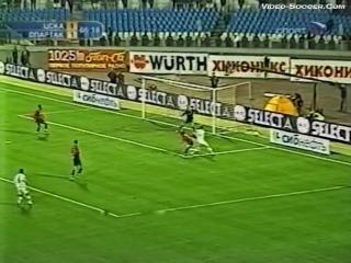 10/09/2004. ЧР 22 Тур. ЦСКА - Спартак 2:1