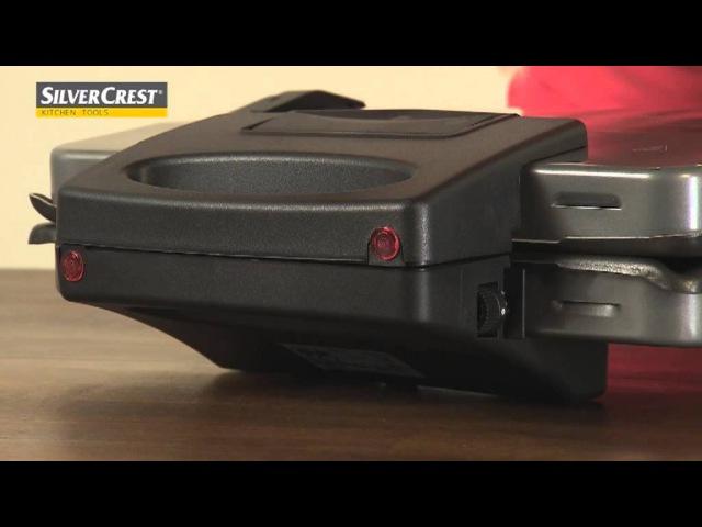 Lidl - Produktová videa - SilverCrest Kitchen Tools - Kontaktní gril 3 v 1