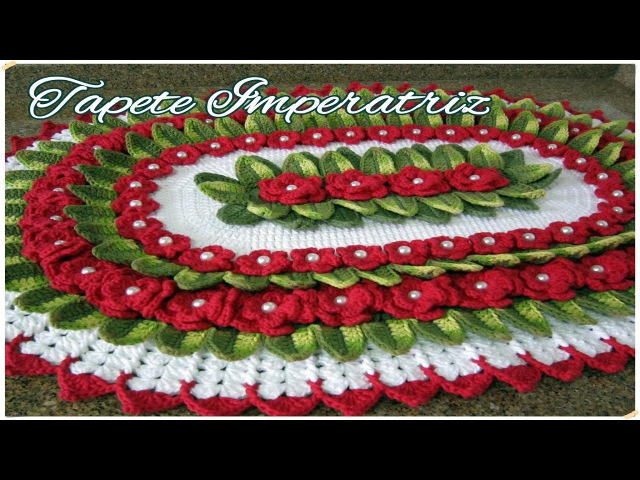 Tapete Imperatriz Marcia Rezende Arte em Crochê 1 3