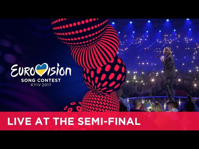 Salvador Sobral Amar Pelos Dois Portugal LIVE at the first Semi Final