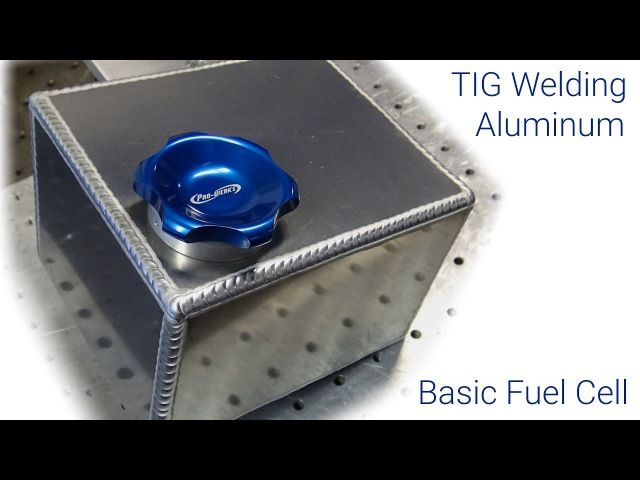 TIG Welding Aluminum Fabrication - Making a small fuel cell (gas tank) - 6061.com