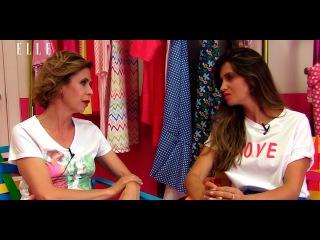 Sara Carbonero y Ágatha Ruiz de la Prada, cara a cara