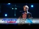 Chase Goehring Singer Songwriter Gets Golden Buzzer From DJ Khaled America's Got Talent 2017