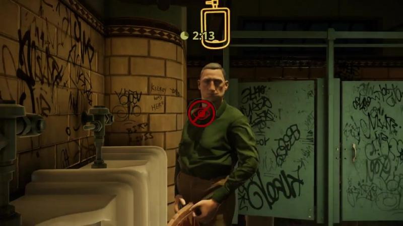 Геймплей игры The Tearoom.