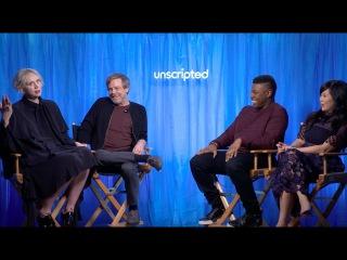 'Star Wars: The Last Jedi'   Unscripted   John Boyega, Gwendoline Christie, Mark Hamill, Kelly Tran