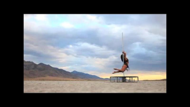Авторский Pole dance Zoraya Judd