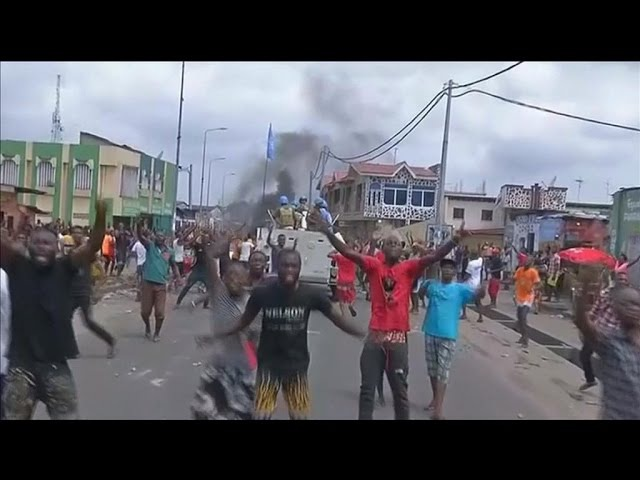 Deadly clashes in Kinshasa as Kabila stays on as DR Congo president
