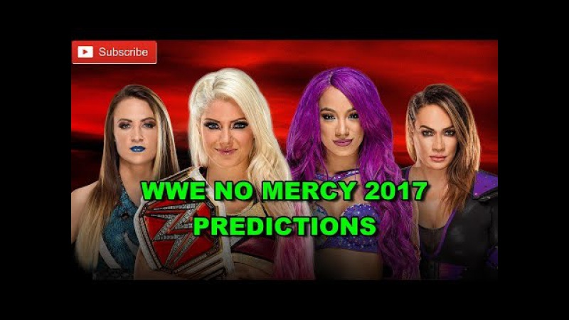 WWE No Mercy 2017 Raw Women s Championship Alexa Bliss vs Sasha Banks vs Nia Jax vs. Emma WWE 2K17