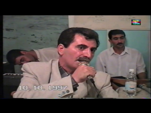 Tofiq Kərim və Kamandar İbrahimov - poeziya - lirika(Toy 1997ci il)