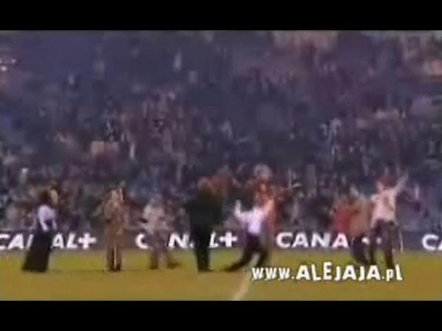 Koszmarna scena na stadionie