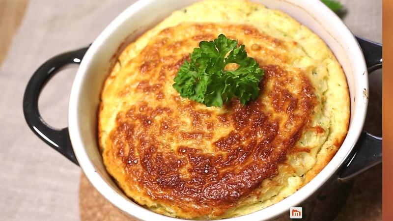 Soufflé thon courgettes