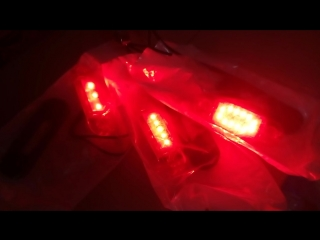 Плоские габаритные фонари WAS