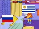 Россия - Уругвай на Чемпионате Мира 2018. Футбол матч онлайн видео красивый гол мяч пенальти фантастика шок жесть прикол игры