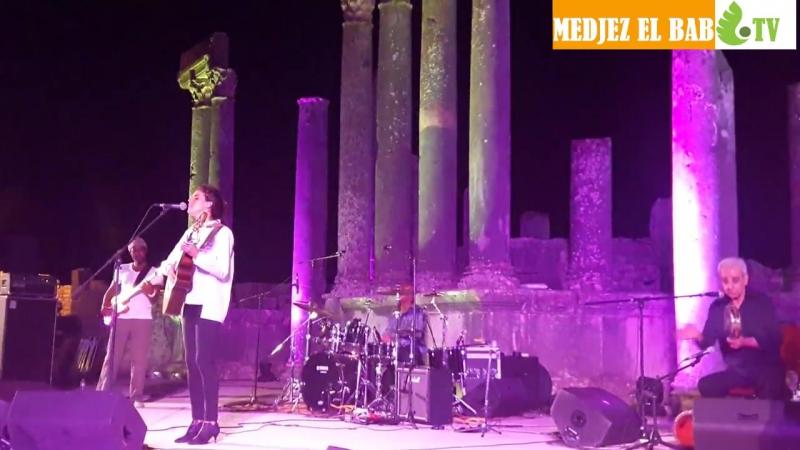 Souad Massi Ghir Enta Festival International de Dougga 2016