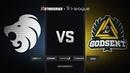 North vs GODSENT map 2 overpass StarSeries i League Season 5 Finals