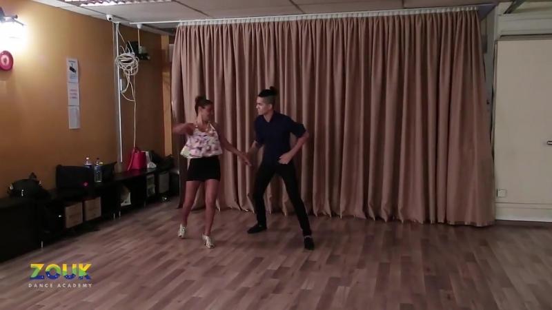 Felipe Garcia Erica Tintel ZoukRUSH at Zouk Dance Academy Sat part