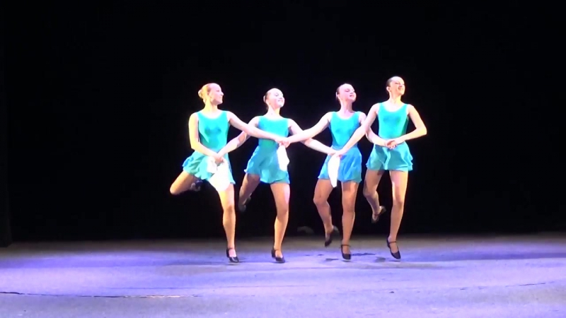 Танцевальный этюд на основе лексики польского танца СВУИиК 2016 2