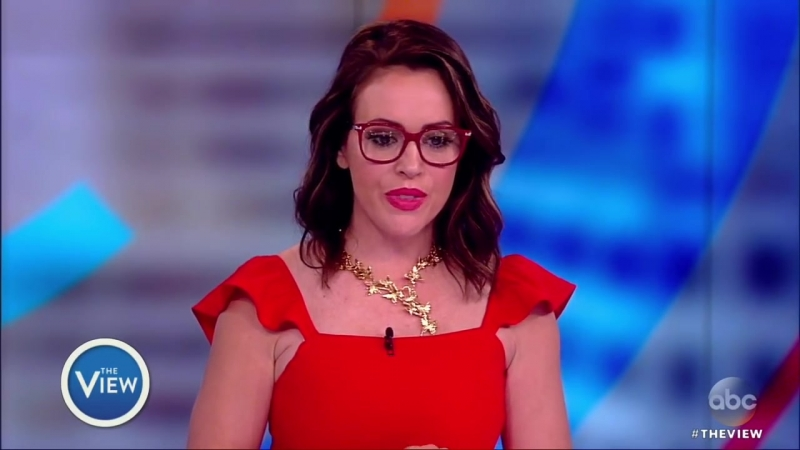 Alyssa Milano On Struggling With Anxiety After Giving Birth, Medical Care For Mental Illness l The View