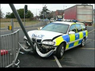 Полиция тоже плачет 2! [Аварии с участием полиции, ГАИ...]. Часть 2! Police accident.